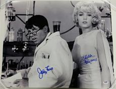 JERRY LEWIS + STELLA STEVENS Signed 16x20 Photo #2 The Nutty Professor PSA/DNA
