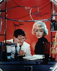 JERRY LEWIS + STELLA STEVENS Signed 16x20 Photo #3 The Nutty Professor PSA/DNA
