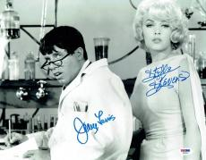 Jerry Lewis & Stella Stevens Signed Nutty Professor 11x14 Photo PSA/DNA #X01314