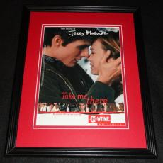 Jerry Maguire 1998 Framed 11x14 ORIGINAL Advertisement Tom Cruise