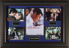 Jerry Maguire Tom Cruise Cast Signed Home Theater Display