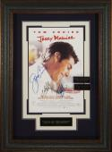 Jerry Maguire Tom Cruise and Cast Signed 11x17 Poster Framed