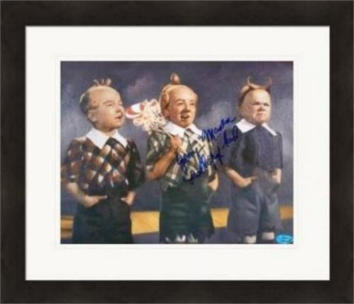 Jerry Maren autographed 8x10 photo (Wizard of Oz Munchkin) #SC3 inscribed Lollipop Kid Matted & Framed
