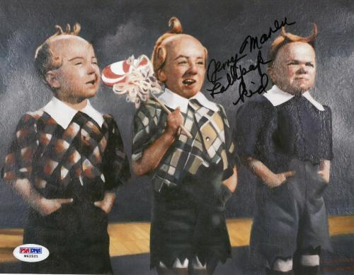 Jerry Maren Signed Lollipop Kid Authentic Autographed 8x10 Photo PSA/DNA COA