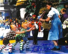 Jerry Maren Signed Wizard of Oz Authentic Autographed 8x10 Photo PSA/DNA COA