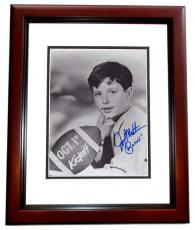 Jerry Mathers Signed - Autographed Leave it to Beaver 8x10 Photo MAHOGANY CUSTOM FRAME