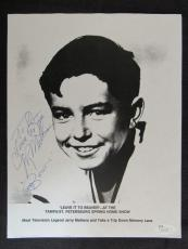 Jerry Mathers Leave It To Beaver Signed Auto Autograph 8.5x11 Photo JSA S16335