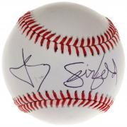 Jerry Seinfeld Autographed Baseball Signed in Black - JSA LOA