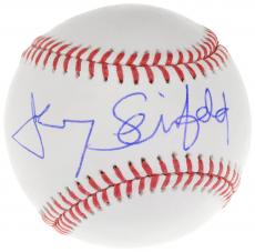 Jerry Seinfeld Autographed Baseball Signed in Blue - JSA LOA