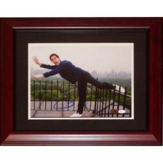 Jerry Seinfeld Autographed Comedy (NYC Skyline) Deluxe Framed 11x14 Photo - JSA