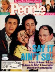 Jerry Seinfeld Autographed People Magazine (Cast) - JSA