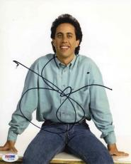 Jerry Seinfeld Autographed Signed 8x10 Photo Certified Authentic PSA/DNA