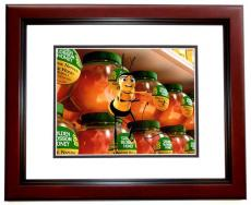 Jerry Seinfeld Autographed THE BEE MOVIIE 8x10 Photo - Barry Bee - MAHOGANY CUSTOM FRAME