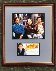 JERRY SEINFELD Autographed/signed Custom Framed display-PSA #AC52610