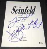 Jerry Seinfeld Chronicles Signed Autograph Full Show Pilot Ep Script Bas Coa