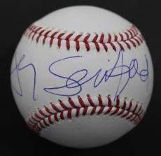 Jerry Seinfeld Comedian and TV Actor Autographed MLB Signed Baseball JSA COA B