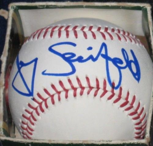 JERRY SEINFELD Comedian TV Star Signed MLB Baseball COA Autographed Full Name