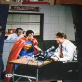 Jerry Seinfeld Comedian Tv Star Signed Superman 11x14 Photo Bas/coa Autographed