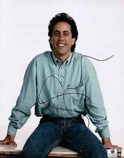 Jerry Seinfeld Hand Signed Autographed 8X10 Photo Seinfeld Stand-Up GA769395