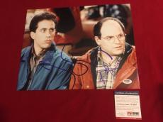 JERRY SEINFELD JASON ALEXANDER signed PSA/DNA 11x14 photo Seinfeld