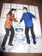 JERRY SEINFELD JULIA LOUIS DREYFUS SIGNED AUTOGRAPH 8x10 PHOTO SEINFELD PROMO K