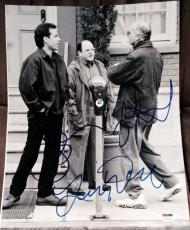 JERRY SEINFELD LARRY DAVID JASON  ALEXANDER SIGNED 1st SHOW PHOTO PSA/DNA Z03748