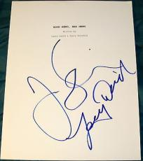 "Jerry Seinfeld & Larry David Signed Autograph ""good News Bad News"" Full Script"