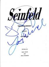 Jerry Seinfeld & Larry David Signed Seinfeld Pilot Ep. Full Script Autograph
