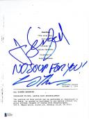 Jerry Seinfeld Larry Thomas Signed The Soup Nazi Full Script Authentic Autograph