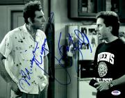 "Jerry Seinfeld & Michael Richards Autographed 11"" x 14"" Seinfeld: Talking Photograph - PSA LOA"