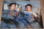 Jerry Seinfeld & Michael Richards Signed 11x14 Photo Authentic Autograph Coa