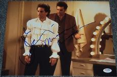 Jerry Seinfeld & Michael Richards Signed Puffy Shirt 11x14 Photo Psa/dna V04619