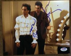 JERRY SEINFELD & MICHAEL RICHARDS SIGNED PUFFY SHIRT 8x10 PHOTO PSA/DNA V14247