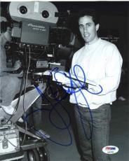 Jerry Seinfeld On Set Autographed Signed 8x10 Photo Certified Authentic PSA/DNA