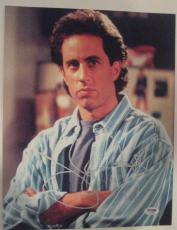 JERRY SEINFELD Signed 11x14 PHOTO w/ PSA COA
