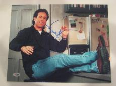 JERRY SEINFELD Signed 11x14 PHOTO with PSA COA