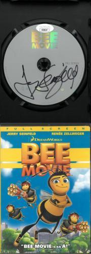 Jerry Seinfeld signed 2007 Bee Movie DVD Movie Video Cover/Case/Disc- JSA #KK58197