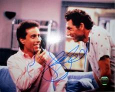 "Jerry Seinfeld Signed 8x10 ""Seinfeld"" w/Kramer Photo SI"