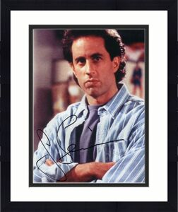 JERRY SEINFELD SIGNED AUTOGRAPH 8x10 PHOTO - COMEDIANS IN CARS GETTING COFFEE