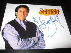 JERRY SEINFELD SIGNED AUTOGRAPH 8x10 PHOTO SEINFELD PROMO IN PERSON COA AUTO J