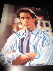 JERRY SEINFELD SIGNED AUTOGRAPH 8x10 PHOTO SEINFELD PROMO IN PERSON COA AUTO K