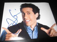 JERRY SEINFELD SIGNED AUTOGRAPH 8x10 PHOTO SEINFELD PROMO IN PERSON TELEVISION