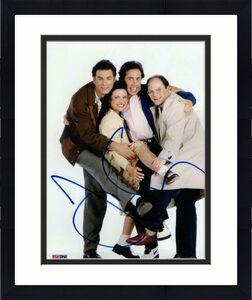 JERRY SEINFELD SIGNED AUTOGRAPH 8x10 PHOTO - TV LEGEND, MICHAEL RICHARDS PSA