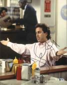 JERRY SEINFELD Signed Autographed 11x14 Photo BECKETT BAS #C34837