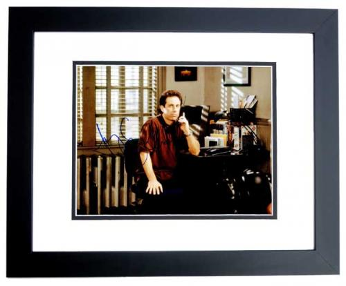 Jerry Seinfeld Signed - Autographed SEINFELD 11x14 inch Photo BLACK CUSTOM FRAME - Guaranteed to pass PSA or JSA