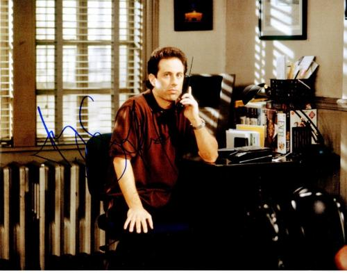 Jerry Seinfeld Signed - Autographed SEINFELD 11x14 inch Photo - Guaranteed to pass PSA or JSA