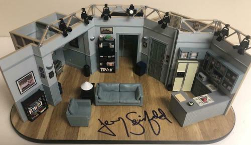 Jerry Seinfeld Signed Autographed Seinfeld Set Replica Exact Proof Beckett Coa