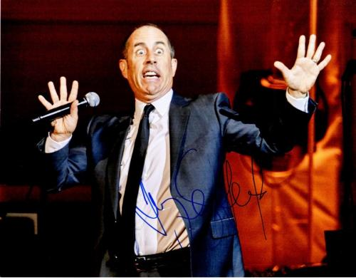 Jerry Seinfeld Signed - Autographed Stand-Up Comedian 11x14 inch Photo - Guaranteed to pass PSA or JSA