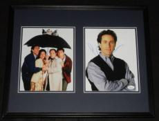 Jerry Seinfeld Signed Framed 16x20 Photo Display JSA w/ cast