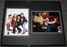 Jerry Seinfeld Signed Framed 16x20 Photo Display PSA/DNA